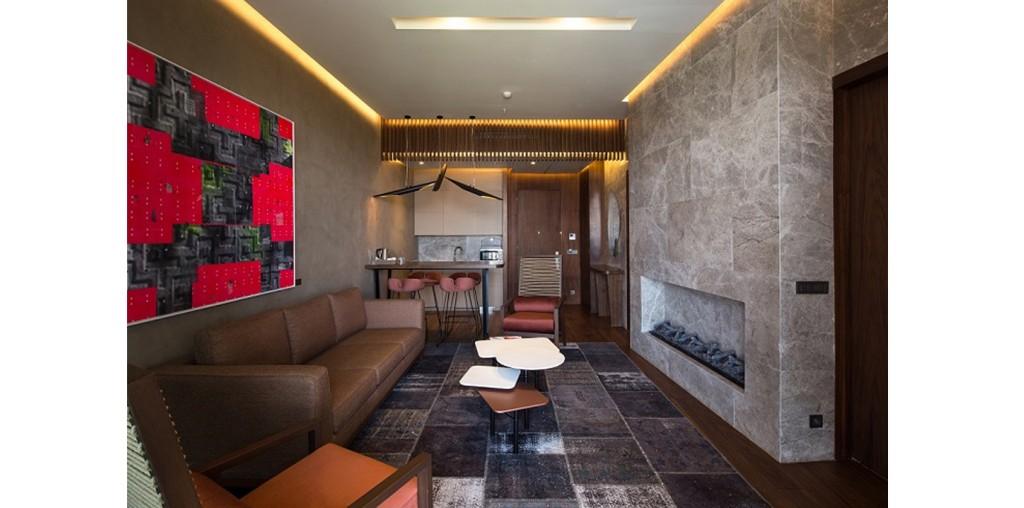 Kral dairesi sabit ve hareketli mobilyalar