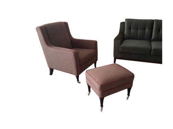 country - klasik tarzı karışımı modern kanepe ve berjer son derece kaliteli ve sağlam bir modeldir, isteğe göre üretilmiştir.