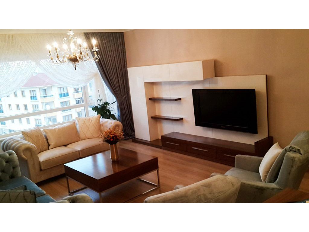 Ankara plazmalık modern TV ünitesi , TV altı