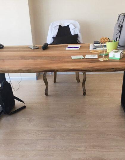 Masif Ağaç Ofis Mobilyaları
