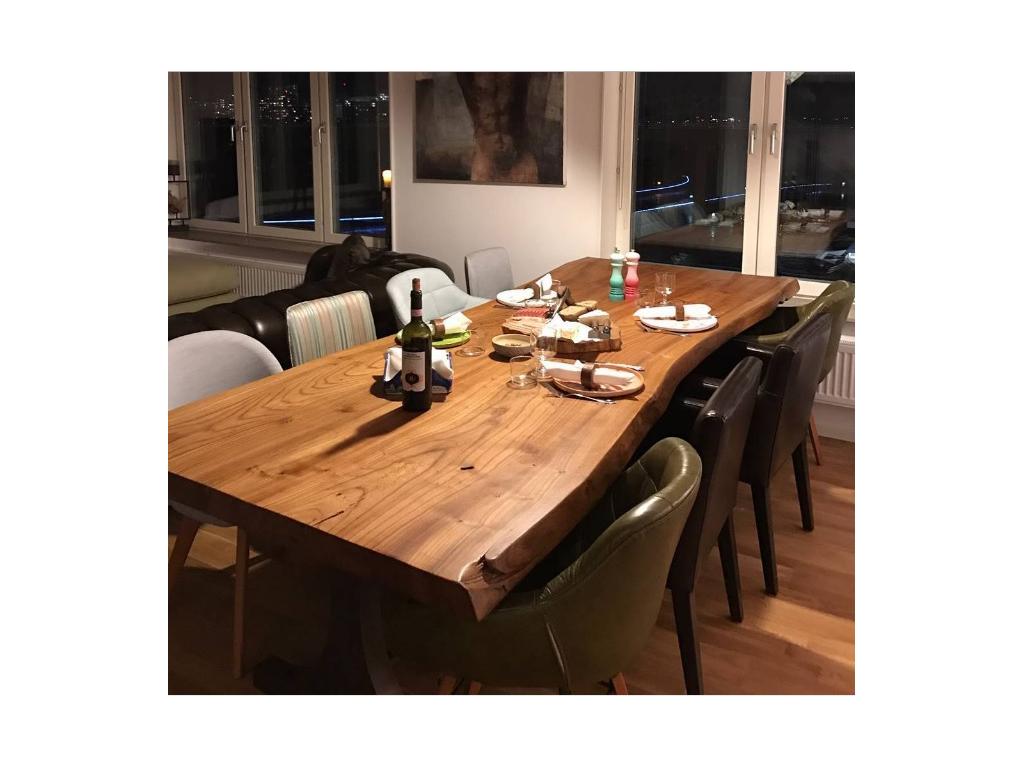 Masif Mobilya , Sandalye , masa , kestane ağacı , modern sandalye