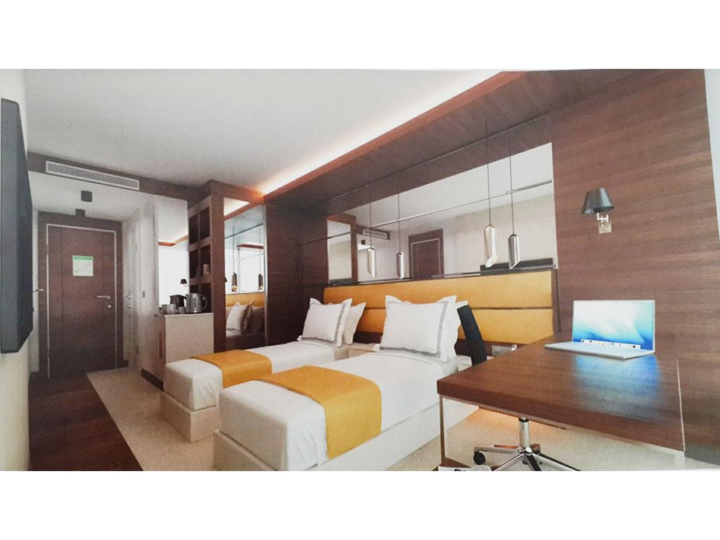 Ankara Siteler Otel Mobilya Tasarım Otel Odası