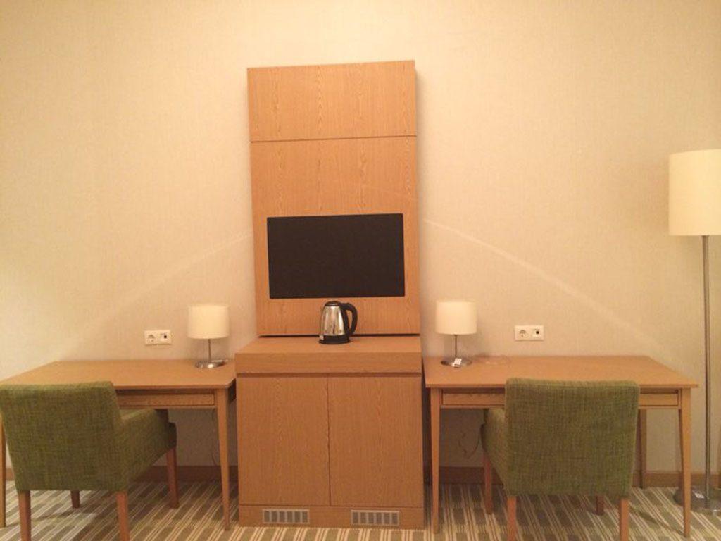 otel minibar çalışma masası tasarımı