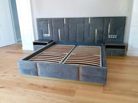 Ankara modern yatak odası