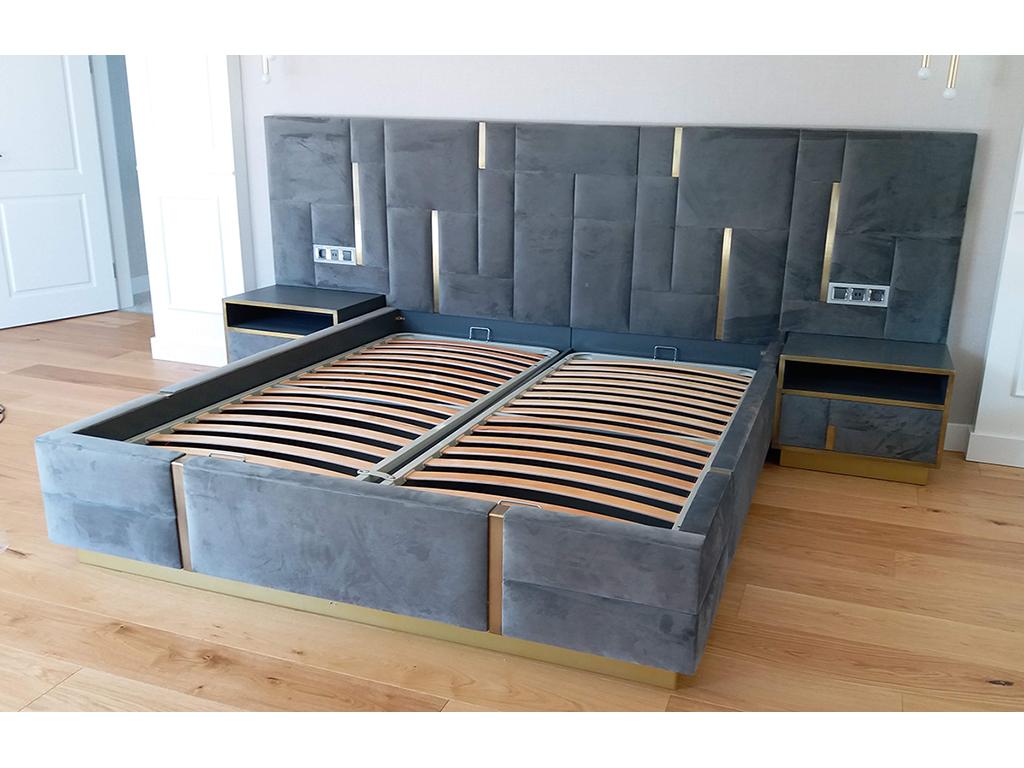 modern karyola , yatak odası
