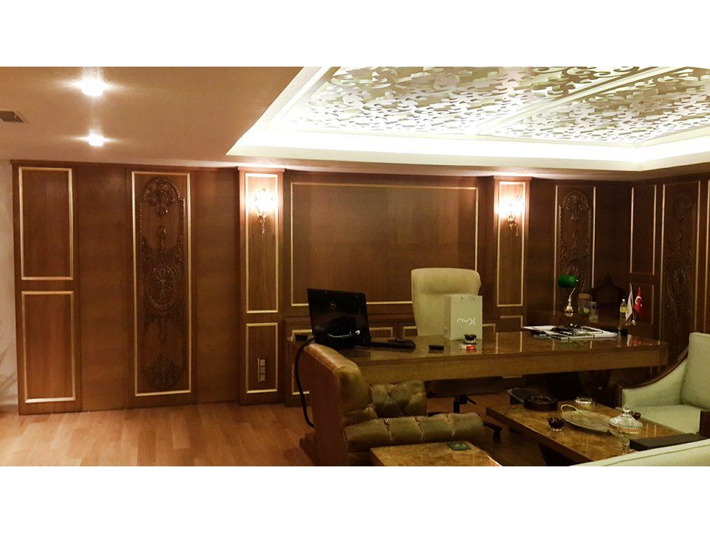 dömi klasik ofis mobilyaları