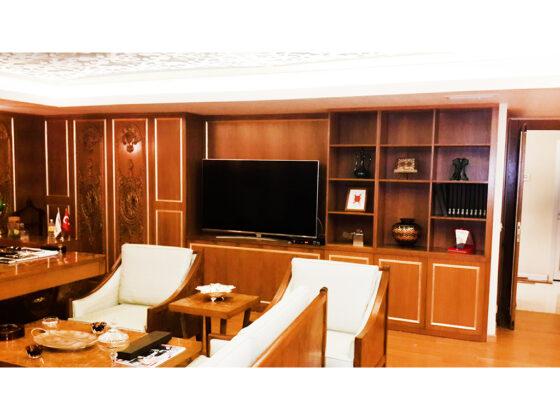 klasik ofis mobilyaları